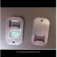 Wholesale Professional manufacturer supplier compact low price blank metal bottle opener tag from china suppliers