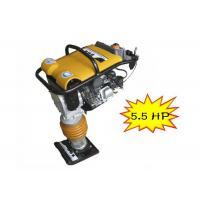 Wholesale Industry 5.5HP Petrol tamping rammer gas powered tamper plate compactor from china suppliers