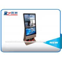 Wholesale Outdoor Multi Touch Screen Free Standing Kiosk Rotatable LCD Advertising Player from china suppliers