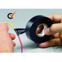 Quality PVC Electrical Insulation Tape Black Color Used For Cable Bonding for sale