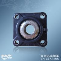 Wholesale Precision Plastic Pillow Block Bearings , Machinery Square Flanged Ball Bearings SUCFPL205 from china suppliers