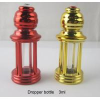 Wholesale 3ml four-column plastic perfume bottle dropper essential oil glass bottle roll on bottle from china suppliers