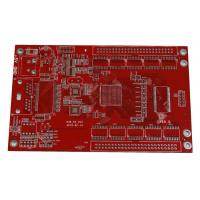 Wholesale FR4 Multilayer PCB Board With Red Solder Mask RoHS Rigid Turnkey from china suppliers