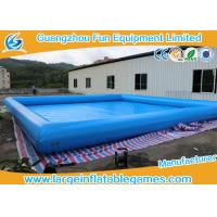 Wholesale Funny Games Inflatable Water Pool For Chridren For Adult With Size Customized from china suppliers