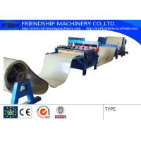 Quality 4KW 380v 50Hz  Slitting Line Machine Metal Rollforming Systems , 0.4-0.8mm Thickness for sale