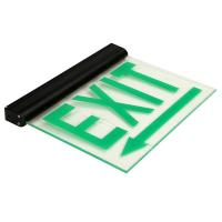 Wholesale 110V / 220V Maintained Aluminum Exit Sign emergency lighting fire exit signs (DSL008BM) from china suppliers