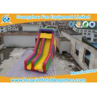 Wholesale Custom Made Size Multicolor Commercial Inflatable Slide For Swimming Pool from china suppliers
