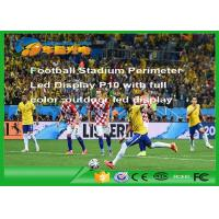 Wholesale Rgb Football Stadium Led Display Outdoor , P10 Led Advertising Display from china suppliers
