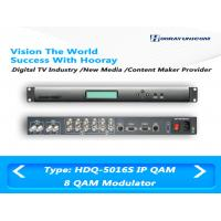 Wholesale 8 Channel DVB C Modulator QAM RF ASI IP Input for Digital CATV headend from china suppliers