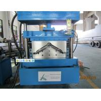 Wholesale Roll Top Ridge Pipe Forming Machine Chain Drive With Hydraulic Cutting from china suppliers