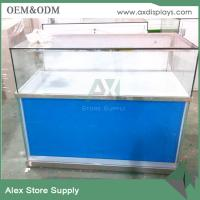 Quality SAMSUNG mobile phone showcase glass display counter display showcase for sale