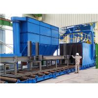 Wholesale I Beam Alloy Wheel Cleaning Machine , Shot Blasting Equipment Roller Conveyor from china suppliers
