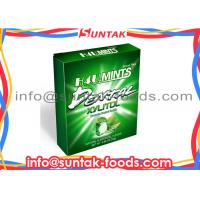 Wholesale Paper Box Sugar Free Breath Mints , Round White Candy Cool Fresh from china suppliers