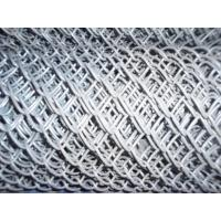 Wholesale Hot - Dipped Galvanized Iron Wire Chain Link Fences 2'' / 11.5GA from china suppliers
