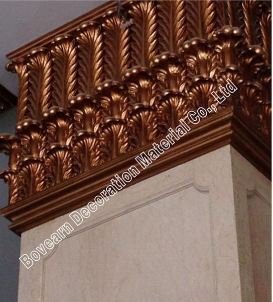 Cheap polyurethane columns for front porch pu plane roman for Polyurethane columns