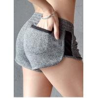 China Skinny Sexy Womens Sports Shorts Breathable Fabric For Outdoor Exercises for sale