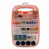 Wholesale 129-piece Rotary Tool Accessory Assortment with Plastic Box, Includes Sanding Band and Nylon Brush from china suppliers
