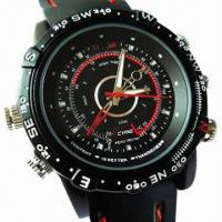 Wholesale Waterproof Cheap Hidden Camera Watch with 4GB Internal Memory from china suppliers