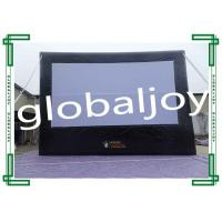 Wholesale PVC Tarpaulin Outdoor Inflatable Movie Screens Inflatable Projection Screen from china suppliers