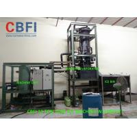 Wholesale CBFI 10 Ton Per Day Tube Ice Machine in Djibouti with Cold Room, Water Cooling from china suppliers