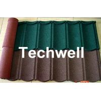 Wholesale Color Stone Coated Metal Roof Tile Machine from china suppliers