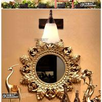 Wholesale E14 bulb 16cm LED glass Bronze mirror lamp (0300) from china suppliers