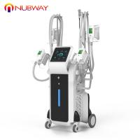 Buy cheap FDA approved 4 Handles cryolipolysis fat freezing device vacuum fat cellulite machines for body slimming from wholesalers