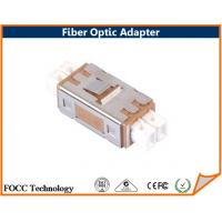 Wholesale MU Duplex Multimode Fiber Optic Network Adapter Using Zirconia Sleeves from china suppliers