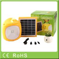 Buy cheap Factory OEM for off-grid rechargeable solar led camping lantern with phone charger from wholesalers