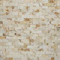 Wholesale Natural Marble Stone Mosaic with Polished Surface and 15 x 30 x 7 to 9mm Chip Size from china suppliers