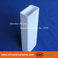 Buy cheap 95% 99.5% Alumina Ceramic Square Tube As Heating Element from wholesalers