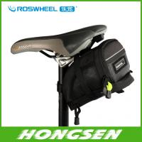 Wholesale Free shipping Bicycle bike Bag Saddle Back Seat Tail Bike Bag Pouch Basket Velcro straps M from china suppliers