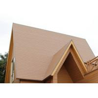 Wholesale Decorative WPC Roofing Materials , WPC Decking Anti-UV And Anti-Oxidant from china suppliers