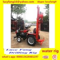 China Made Cheapest Tractor Mounted Water Well Drilling Rig For 50-70 Meters Depth