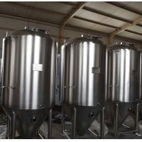 Wholesale 500L beer brewing systems with food grade stainless steel insulated conical fermenters from china suppliers