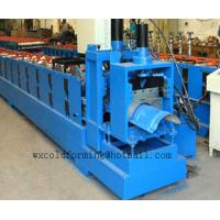 Wholesale 5.5 Kw Top Ridge Cap Cold Roll Former Manual / Automatical Decoiler from china suppliers