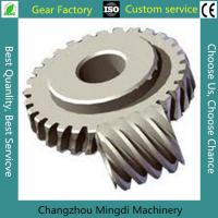 Wholesale Bevel Gear Assembly Custom Bevel Gear Worm Gear Sets With C45 Materials from china suppliers