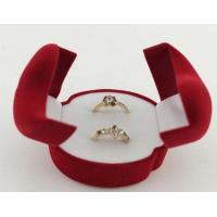 Wholesale double rings velvet box from china suppliers