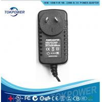 Wholesale 24w Universal DC Adapter Wall Wart Power Supply 12V 2A Mobile Tablet Charger from china suppliers