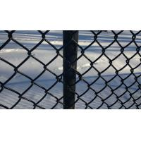 Diamond razor wire mesh fence pvc coated plastic chain