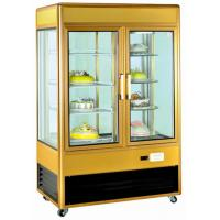 Quality High Transparency Bakery Display Refrigerator , 2 Door Restaurant Display Freezers for sale