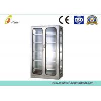 Wholesale Glass Metal Medical Cabinet Hospital Instrument Cabinet 900*400*1750mm from china suppliers