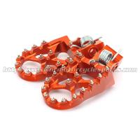 Buy cheap High Quality Wide CNC Aluminum Passenger Foot Pegs For Dirt Bike from wholesalers