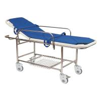 Wholesale Stainless Steel Manual Patient Transfer Trolley For Handicapped from china suppliers