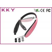 Wholesale Sports Style Wireless Bluetooth In Ear Headphones Pink Color 20Hz~20KHz from china suppliers