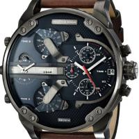 Wholesale Wholesale NEW DIESEL DZ7314 BROWN LEATHER MENS MR DADDY 2.0 57MM CHRONOGRAPH WATCH from china suppliers