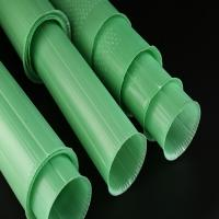 Wholesale PP Corrugated Plastic Plant Guards Green Color UV Resistant 60cm Length from china suppliers