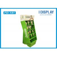 Quality Portable Retail Cardboard Displays , Dogs Food Merchandising Displays Stands for sale
