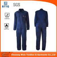 Buy cheap EN11612 fire proof industry coverall used for Oil & Gas Industry from wholesalers