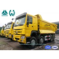 Wholesale 420Hp Heavy Mining Trucks With Front Tipping Manual Transmission , 50km/H Max Speed from china suppliers